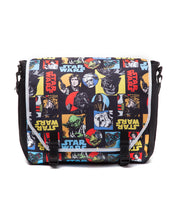 Charger l'image dans la galerie, STAR WARS - Retro Characters Comic Style Messenger Bag