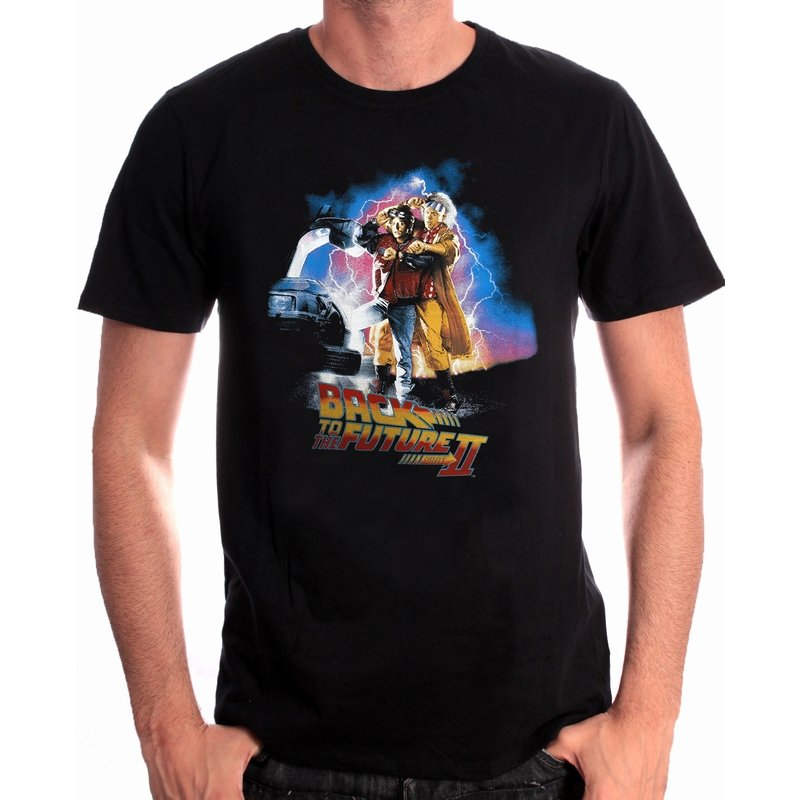 BACK TO THE FUTURE - T-Shirt Poster Back to the Future Part II (XL)