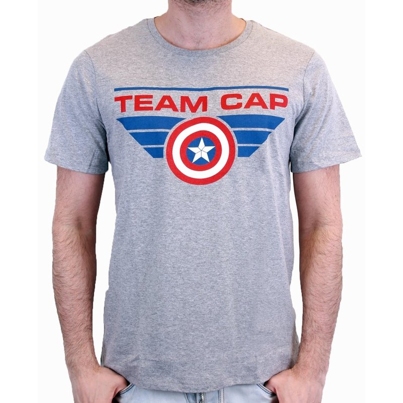 CIVIL WAR - T-Shirt TEAM CAP - Grey (XL)