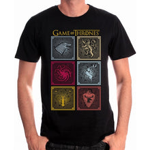 Charger l'image dans la galerie, GAME OF THRONES - T-Shirt Badges of the King (XL)
