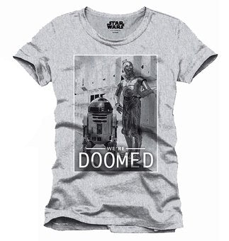 STAR WARS  - T-Shirt We Are Doomed (S)