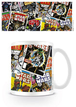Charger l'image dans la galerie, STAR WARS - Mug - 300 ml - Comic Covers