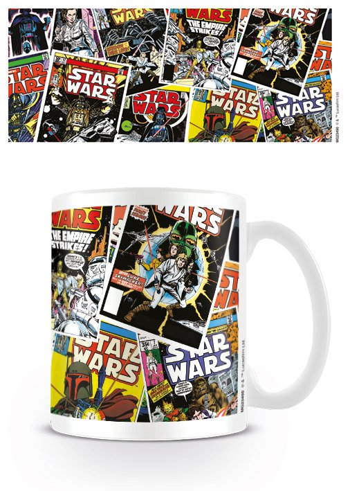STAR WARS - Mug - 300 ml - Comic Covers