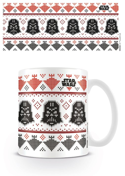 STAR WARS - Mug - 300 ml - Darth Vader Xmas
