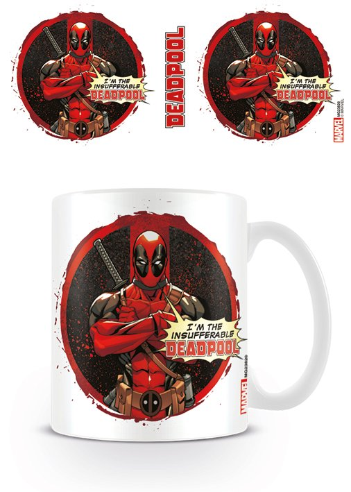 DEADPOOL - Mug - 300 ml - Insufferable