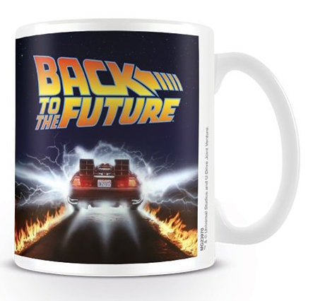 BACK TO THE FUTURE - Mug - 300 ml - Delorean
