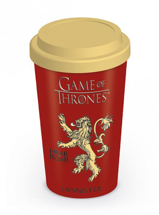 GAME OF THRONES - Mug de voyage 340 ml - Lannister House