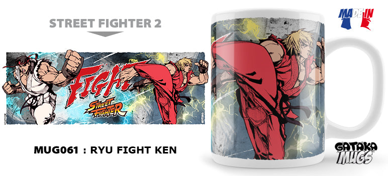 STREET FIGHTER - Mug - Ryu Fight Ken