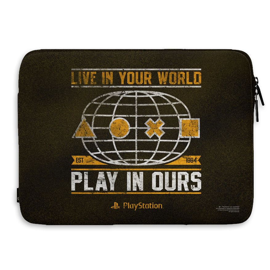 PLAYSTATION - Laptop Sleeve 15 Inch - Your World