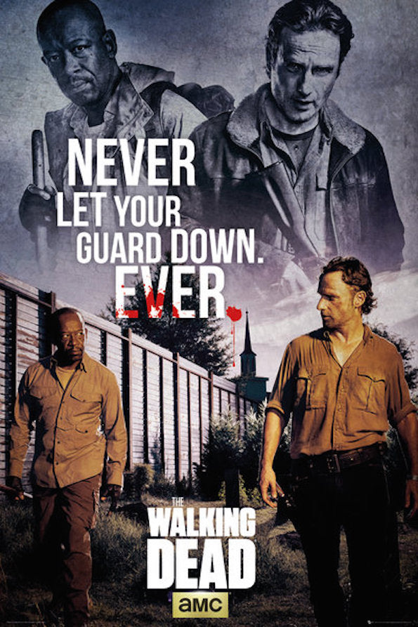WALKING DEAD - Poster 61X91 - Rick and Morgan