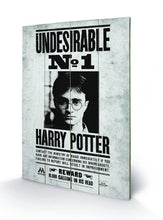 Charger l'image dans la galerie, HARRY POTTER - Undesirable N° 1 - Impression sur bois 40x59cm