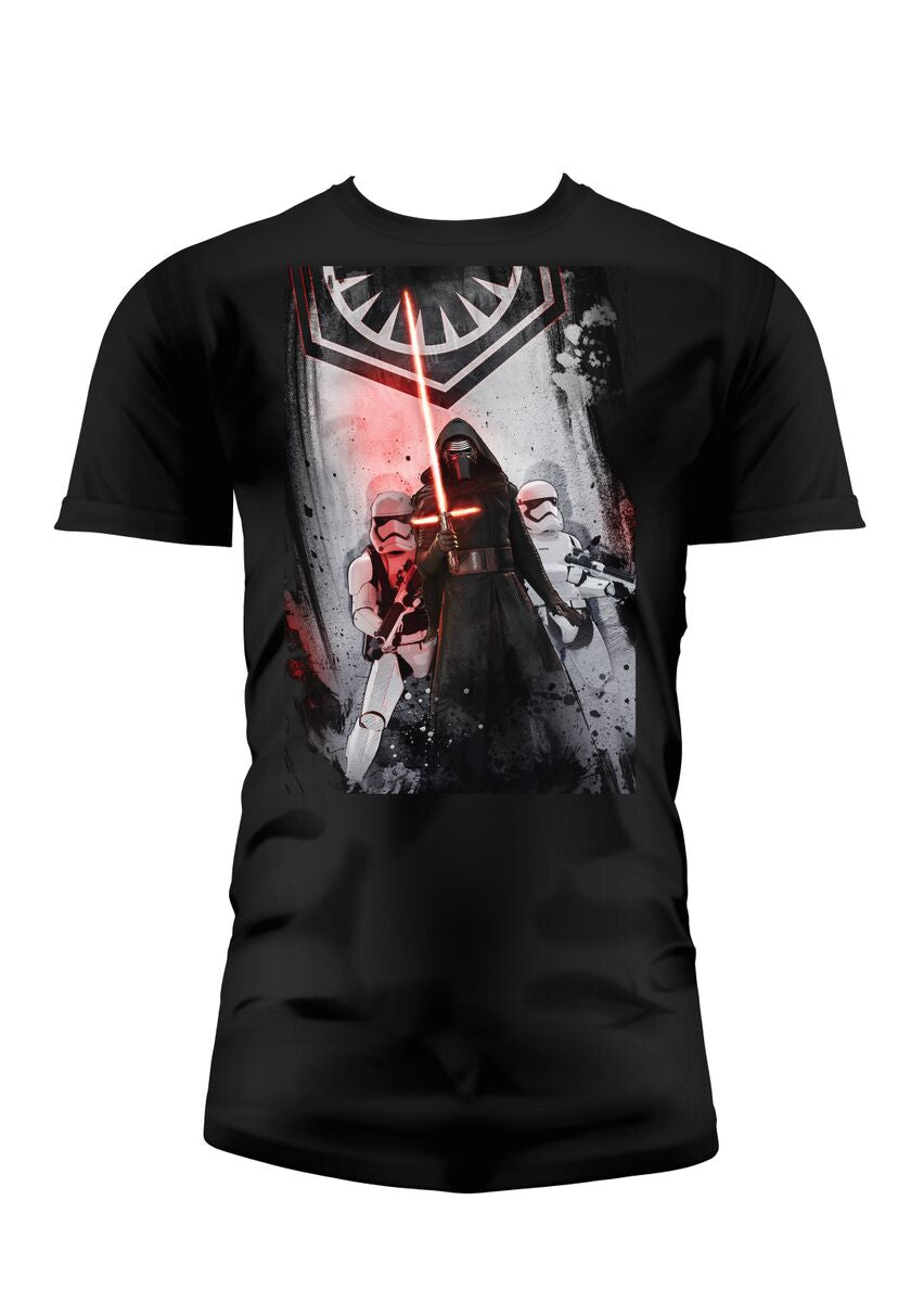 STAR WARS 7 - T-Shirt First Order - Black (XL)