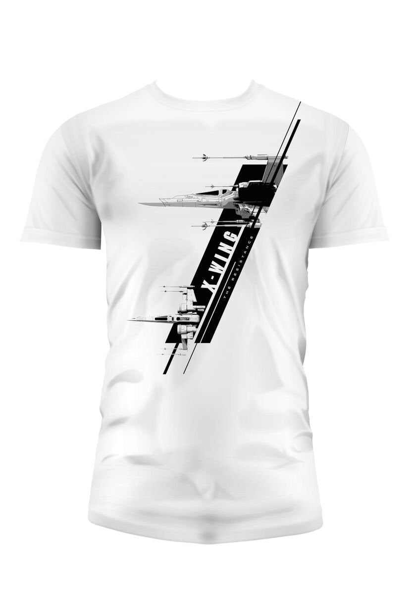 STAR WARS 7 - T-Shirt X-Wing - White (S)