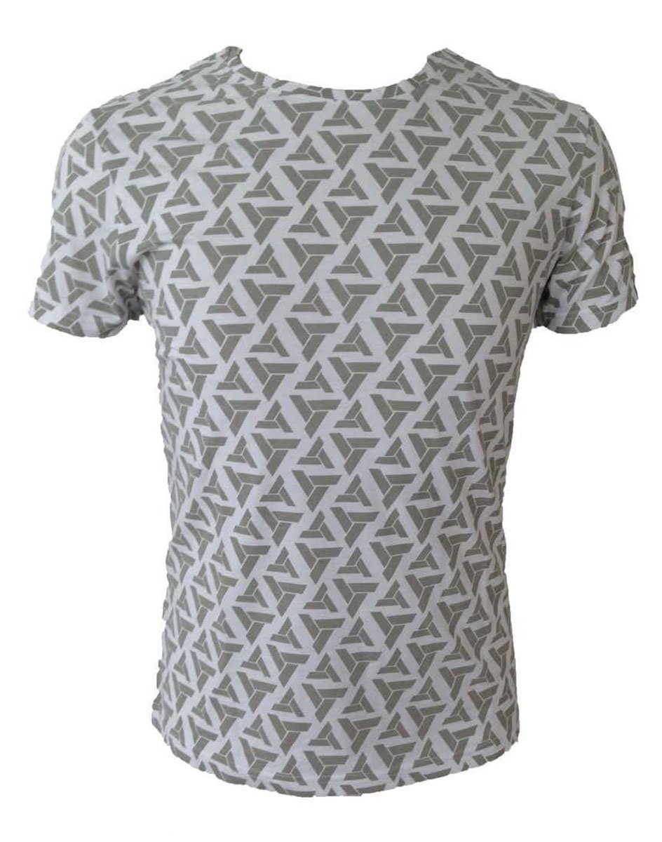 ASSASSIN'S CREED - T-Shirt All over printe abstergo logo (S)