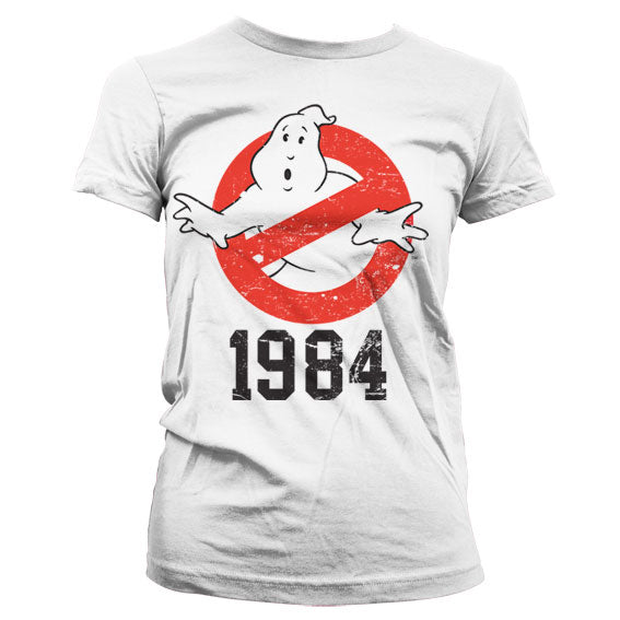 GHOSTBUSTERS - T-Shirt 1984 GIRLY - White (XXL)