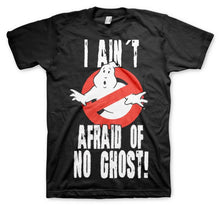 Charger l'image dans la galerie, GHOSTBUSTERS - T-Shirt I Ain't Afraid of No Ghost - Black (S)