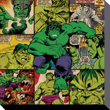 Charger l'image dans la galerie, MARVEL COMICS - Canvas 40X40 '38mm' - Hulk Squares