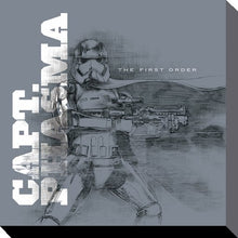 Charger l'image dans la galerie, STAR WARS - Canvas 40X40 '38mm' - Episode VII - Captain Phasma Grey