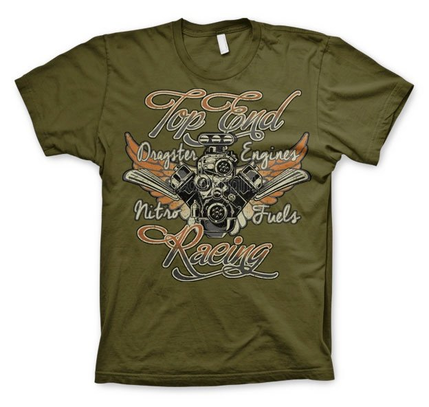 LIFESTYLE - T-Shirt Top End Racing (S)