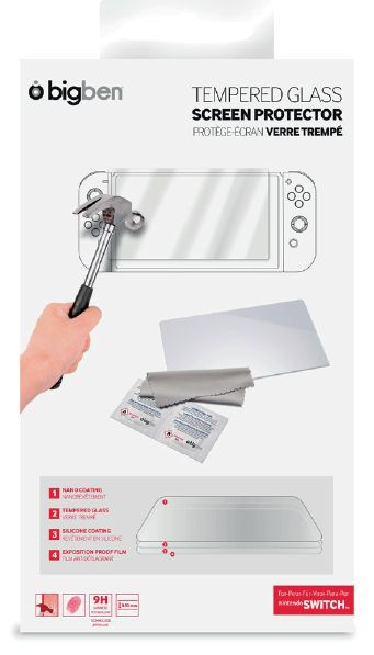 Screen Protection Kit Tempered for Nintendo Switch (Big Ben)