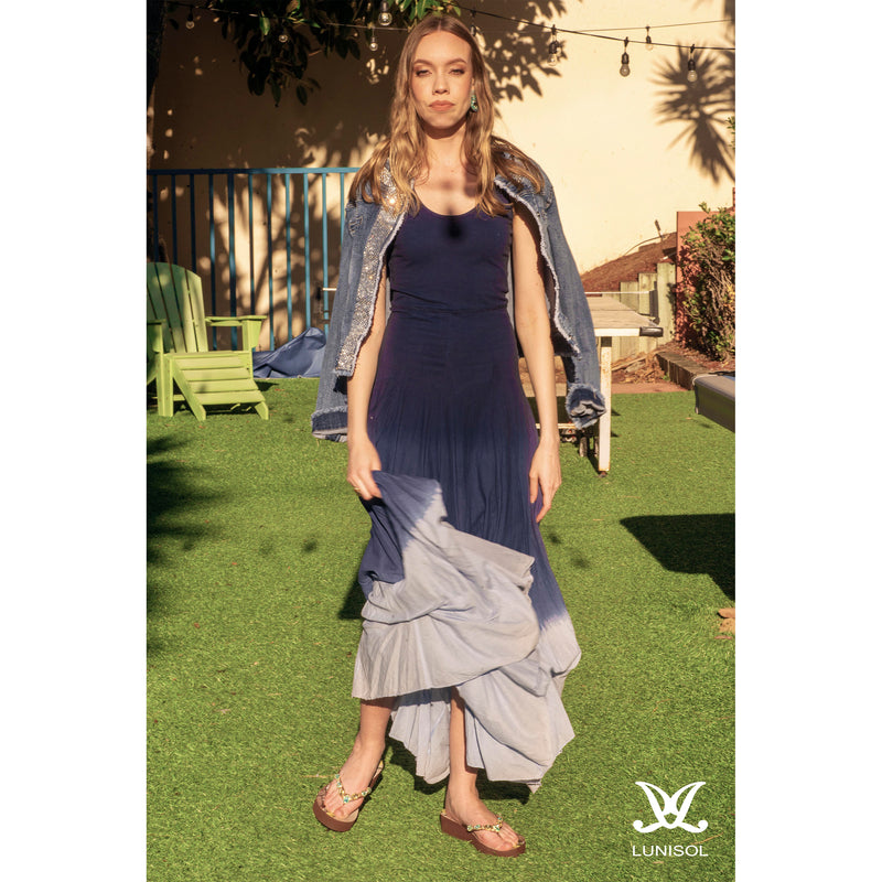 La Jolla Beach Ombre Dress- Lunisol Store