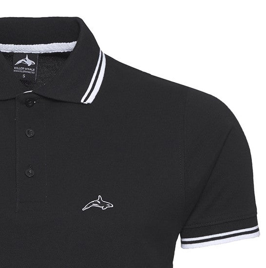 Killer Whale Polo Shirt Mens England Designer Premium Dense Cotton Classic Neck top