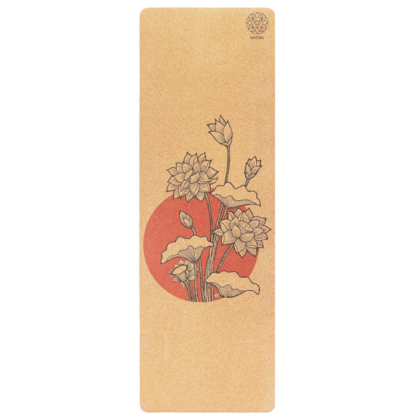 Lotus Cork Yoga Mat