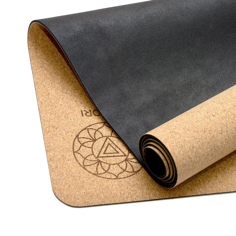 The Wolf Cork Yoga Mat - Satori Concept