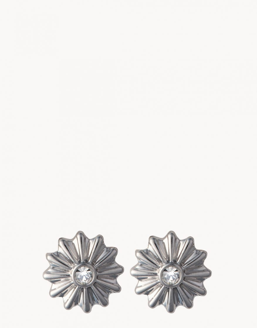SEA LA VIE CELEBRATE STUD EARRINGS~silver