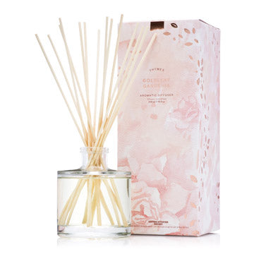 Goldleaf Gardenia Reed Diffuser Set