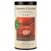 Load image into Gallery viewer, Cardamon Cinnamon Herbal Tea Bags