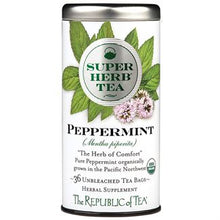 Load image into Gallery viewer, Organic Peppermint SuperHerb® Tea Bags