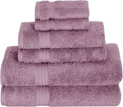 Daisy House Lilac Bamboo Towels