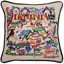 Load image into Gallery viewer, Hand-Embroidered Pillow