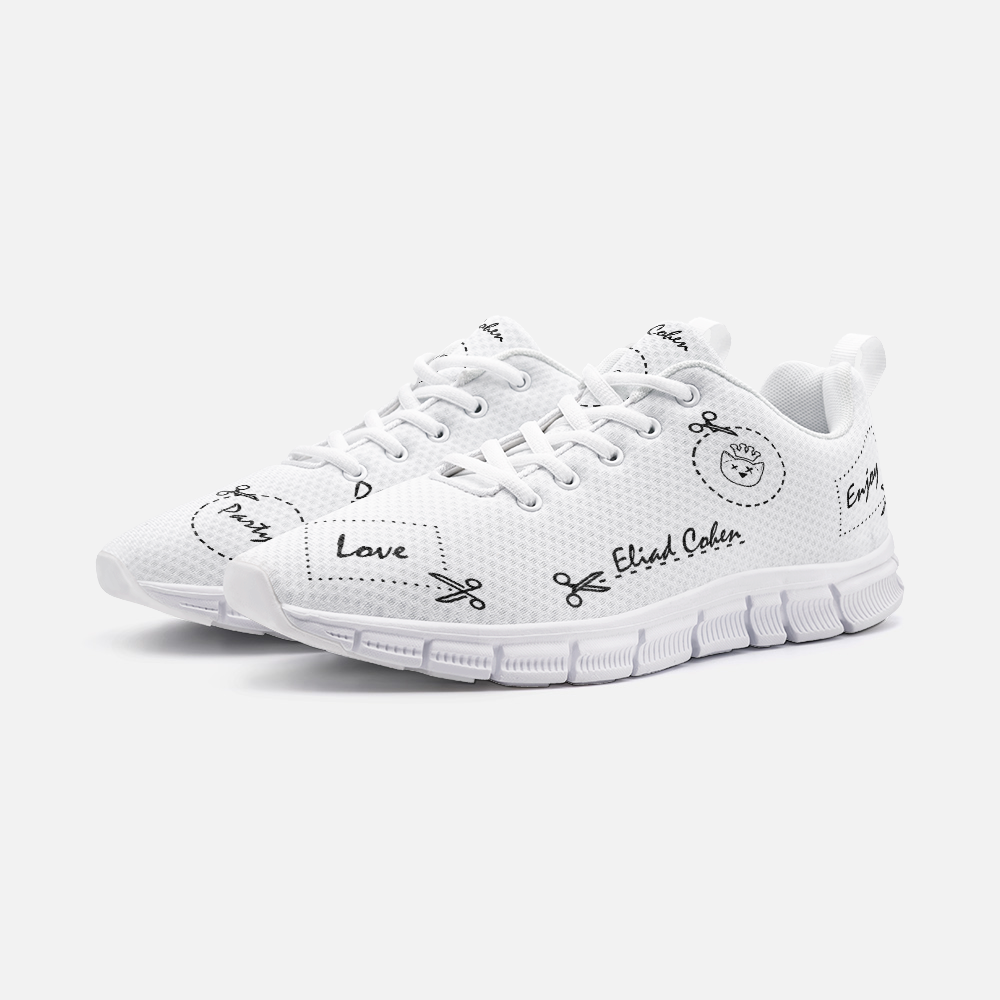Eliad Cohen Cut IT! Unisex Sneakers