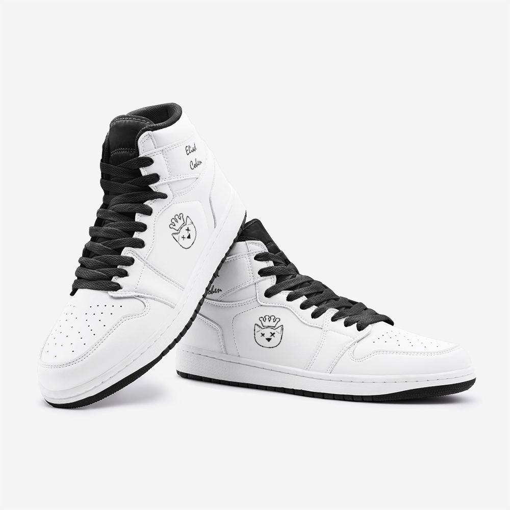 Mr. Eliad White Unisex Sneakers