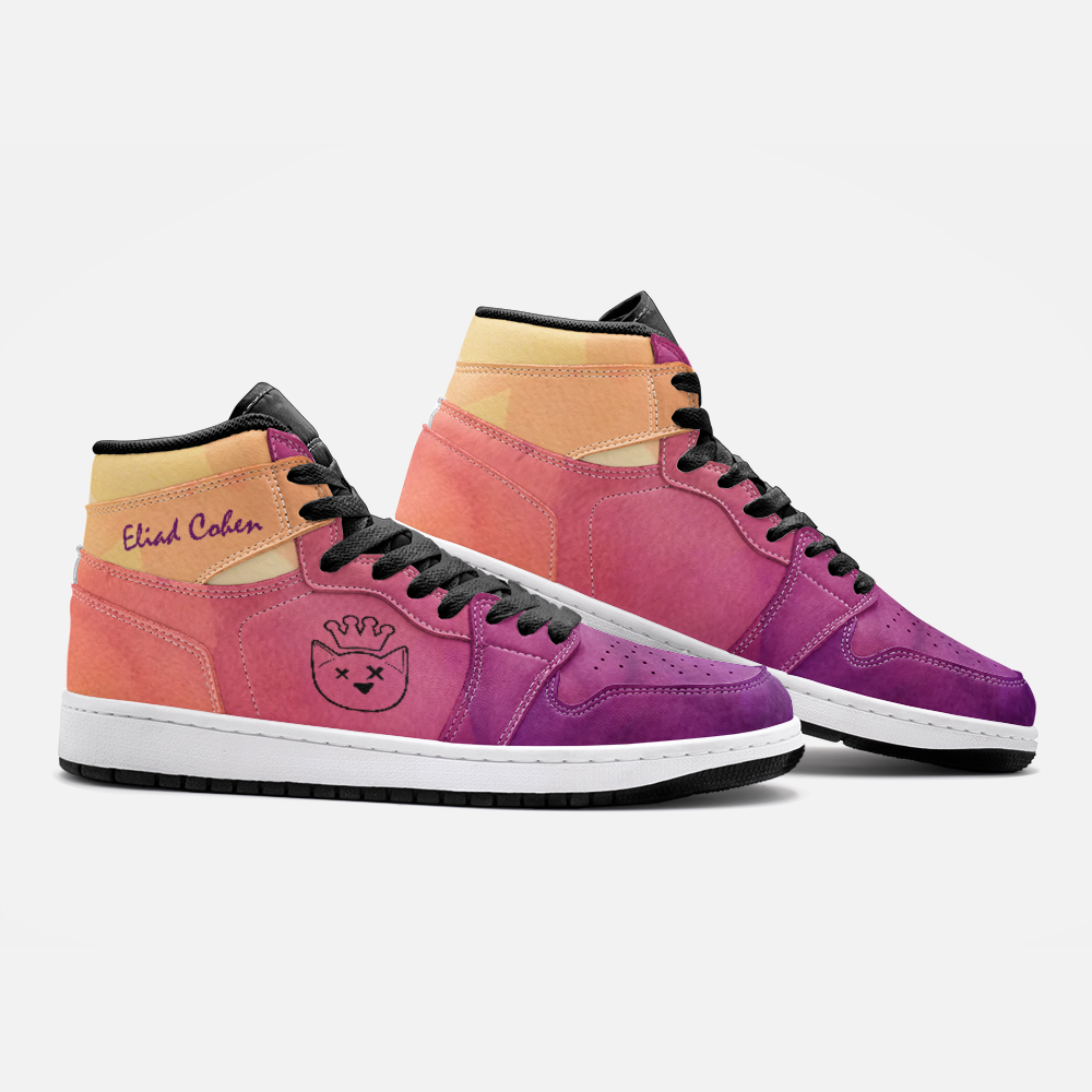 Mr. Eliad Sunset Unisex Sneakers