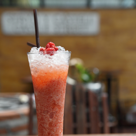 Raspberry Beer Cocktail Fusion