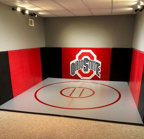 Ohio State Wrestling Room