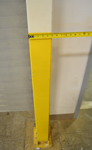 Factory column pad that needs a safety pad