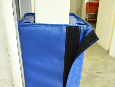 Easy fastening fabric for install and removable