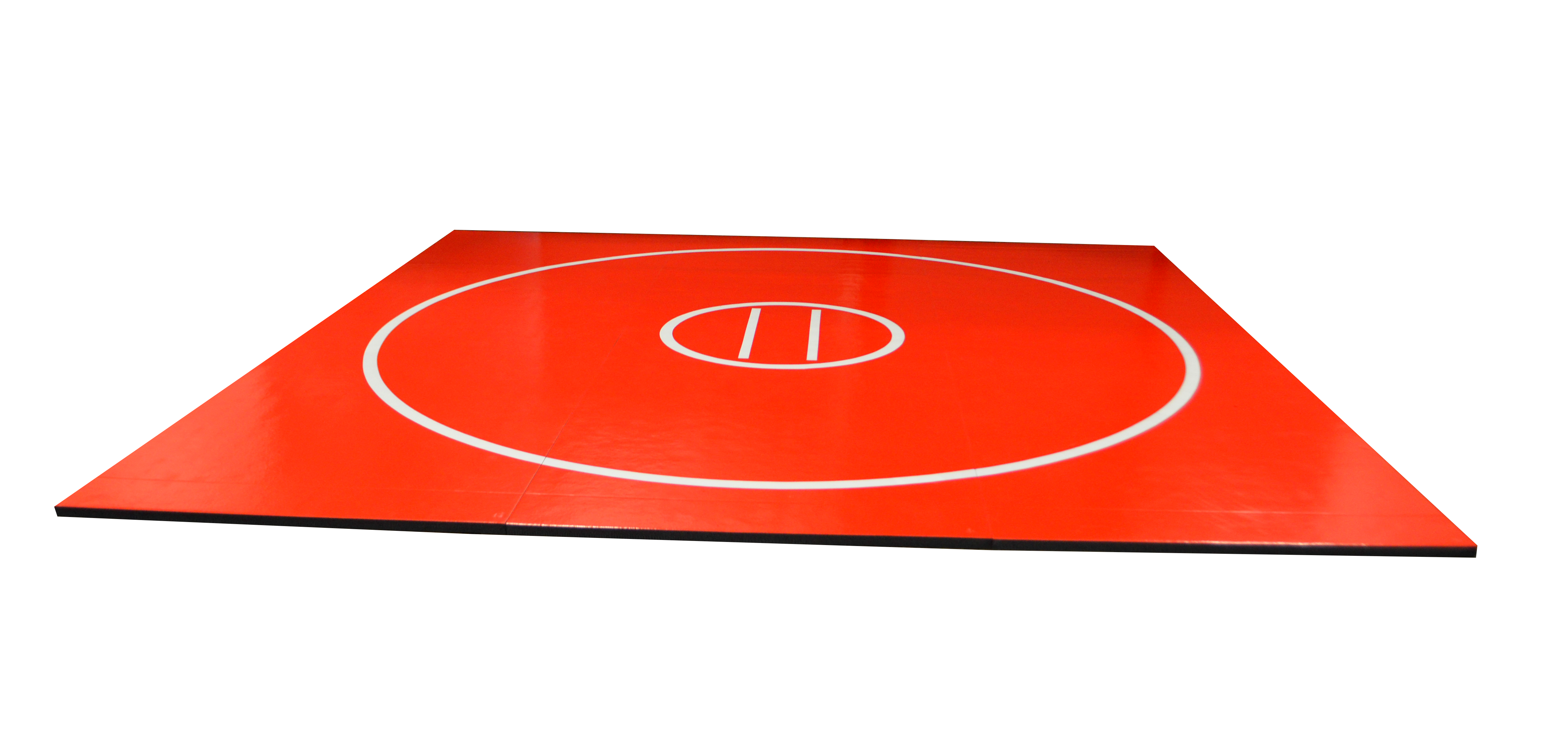 AK Athletics red roll up wrestling mat light weight