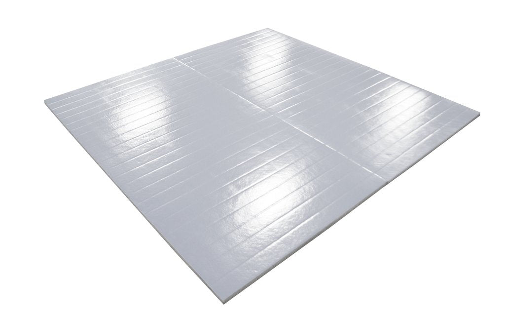 Gray Martial Arts Floor Mat