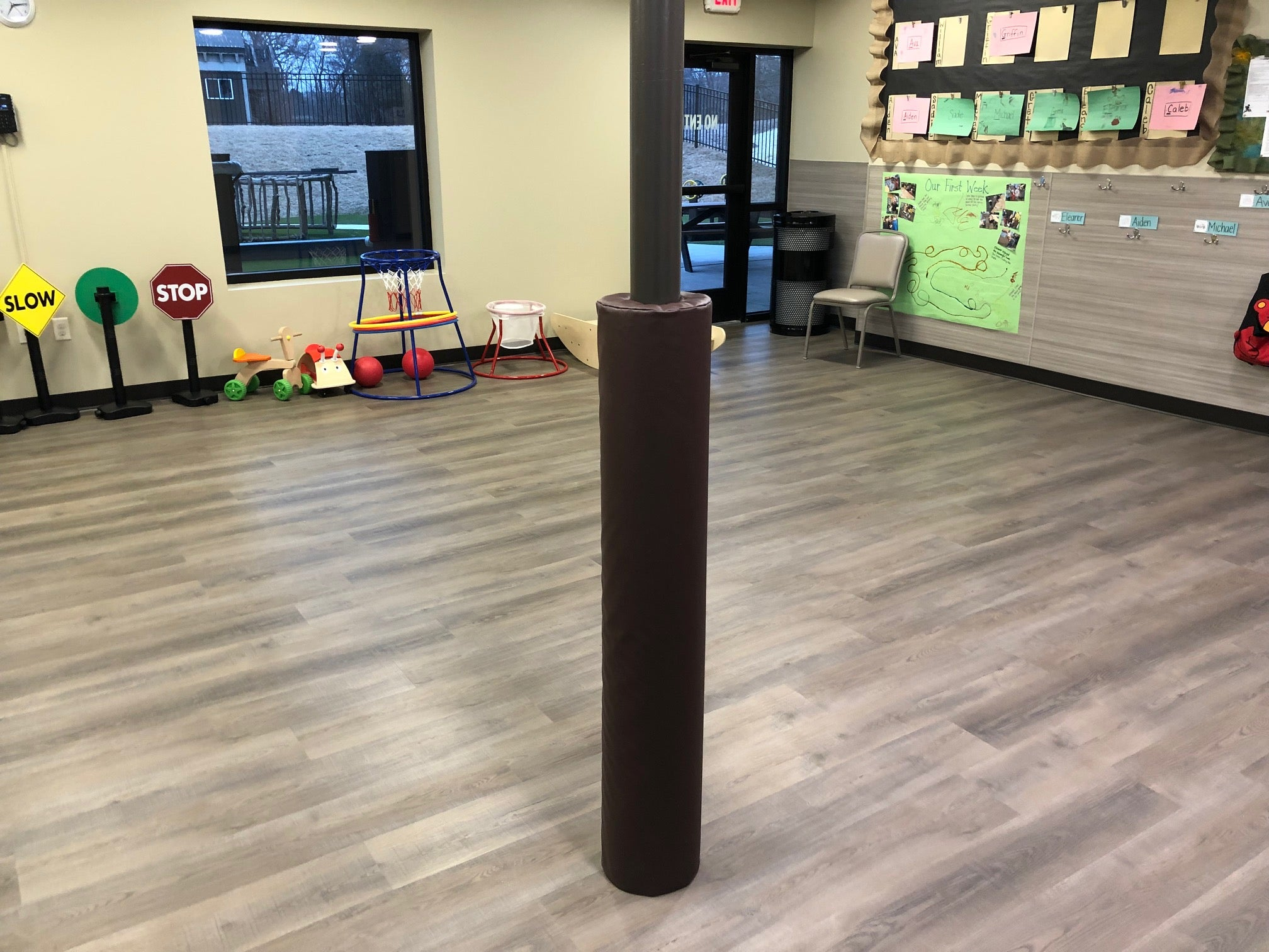 Daycare Pole Safety Pad