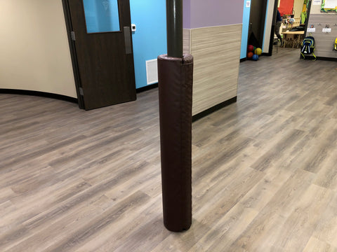 "4' Tall Pole Pad, 6"" Diameter"