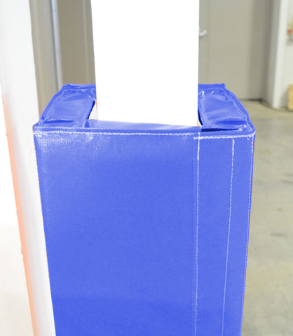 "4' Tall Four Sided Column Pad, 12"" Side Width"