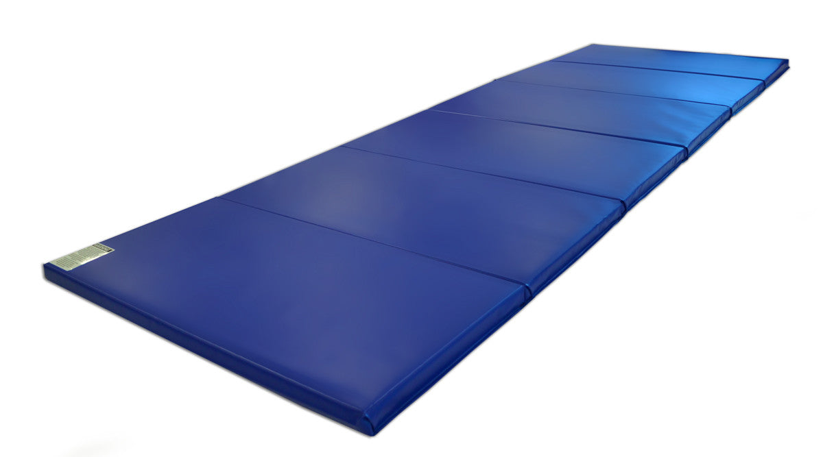 "Quick Ship 4' x 12'x 2"" Intermediate Level Gymnastics Mat"