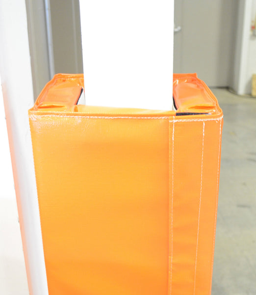 4 Tall Four Sided Column Pad 4 Quot 7 Quot Side Width Ak