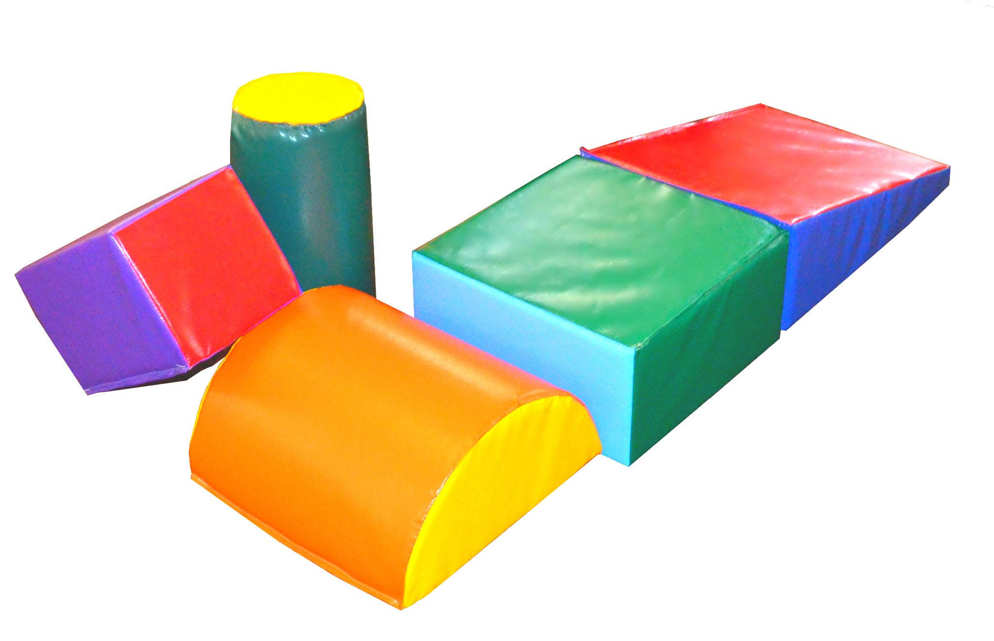 Quick Ship Soft Play 5-Piece Block Set