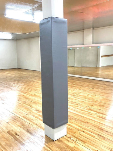 Grey Dance Studio Post Pad